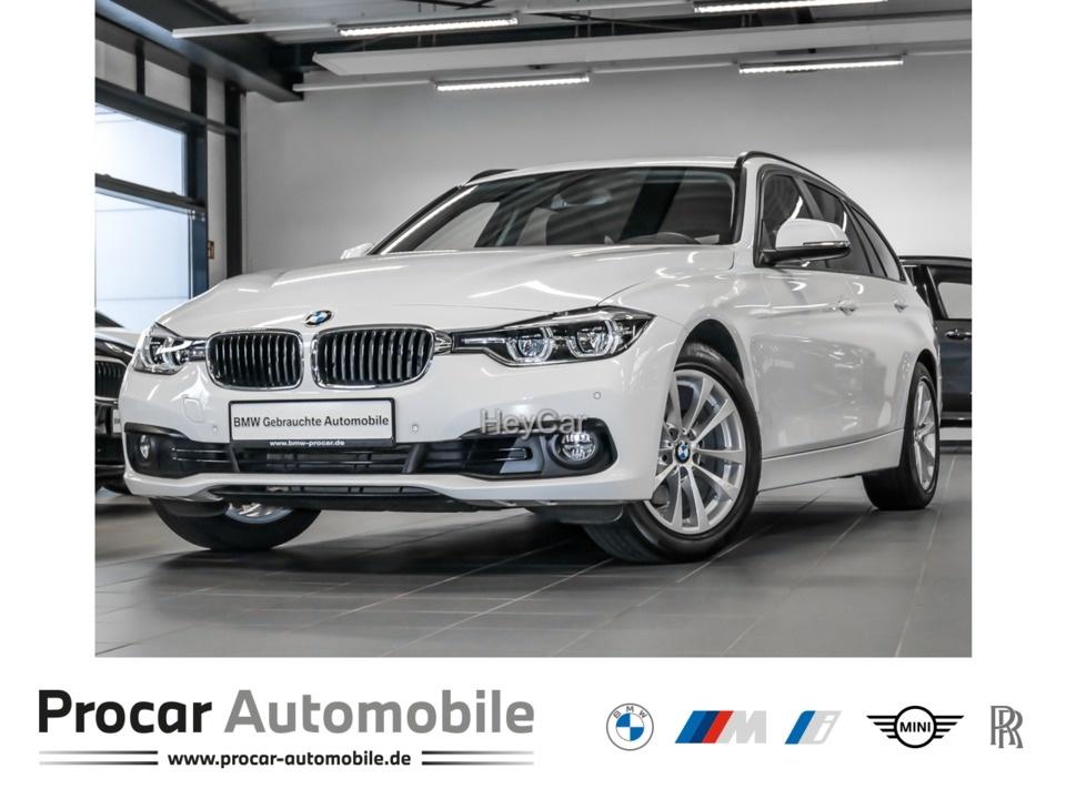 BMW 320i Touring Advantage Navi Business AHK PDC RFT, Jahr 2017, Benzin