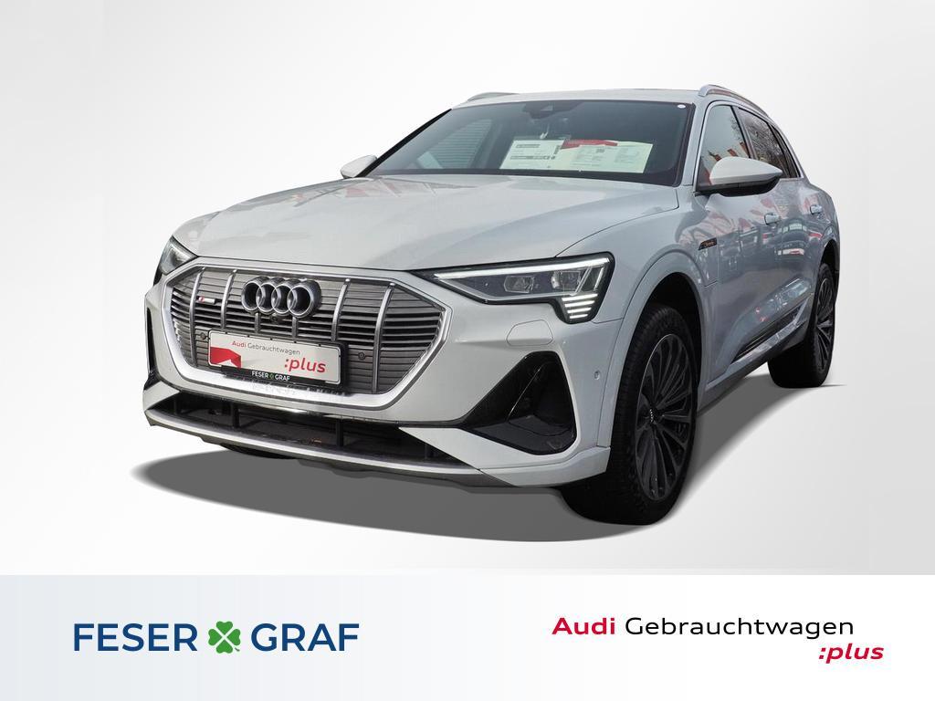 Audi e-tron 55 quattro S line Pano/Nachtsicht/Head up, Jahr 2020, Elektro