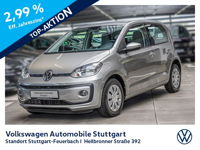 Volkswagen up! 1.0 move up! Tempomat, Jahr 2019, Benzin