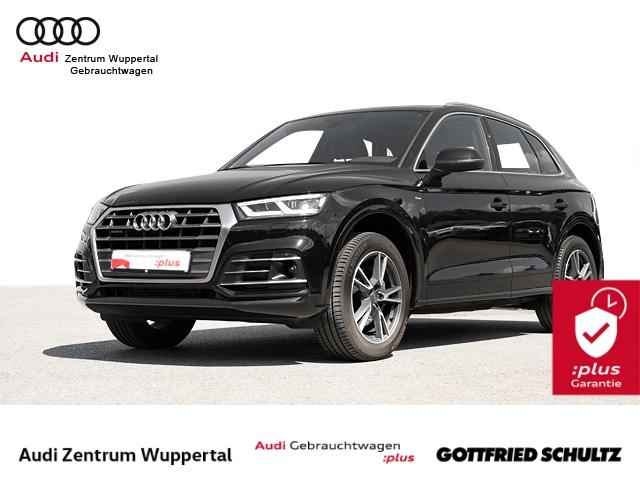 Audi Q5 2.0TFSI QUAT 2x S-LINE ACC PANO AHK CONNECT SHZ KEYLESS PDC VO HI MUFU 19ZOLL Design, Jahr 2018, Benzin
