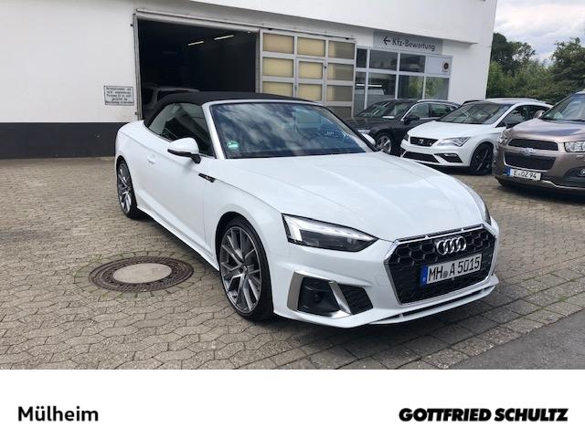 Audi A5 CABRIO LINE 40 TFSI S TRONIC virtual cockpit plus LED DAB sofort lieferbar, Jahr 2020, Benzin