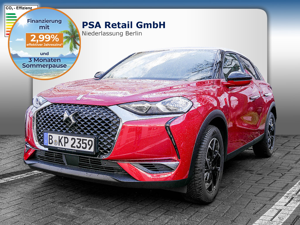 DS Automobiles DS 3 Crossback PureTech 100 SoChic, Jahr 2020, Benzin