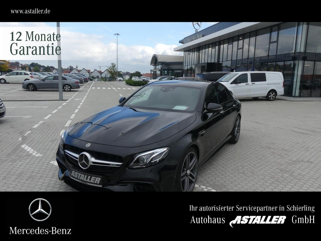 Mercedes-Benz E 63 AMG 4M+ Drivers+Wide+HUD+AbGas+Night+Comand, Jahr 2017, Benzin