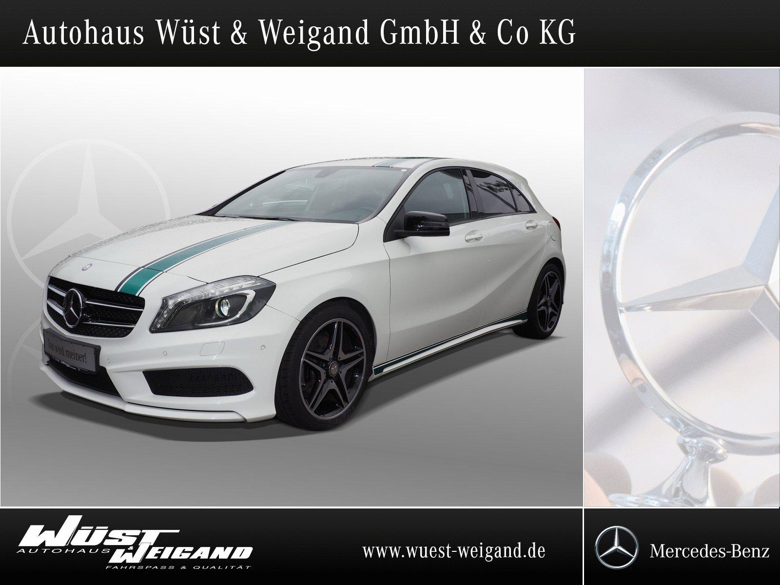 Mercedes-Benz A 200 AMG-Line Kamera+PTS+Xenon+Nigth-Paket, Jahr 2014, Benzin