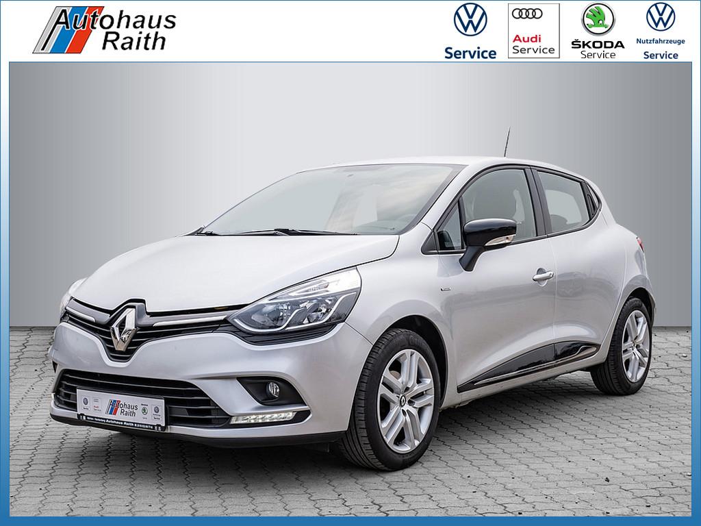 Renault Clio IV 1.2 16V 75 Limited Klima/GRA/SHZ, Jahr 2017, Benzin
