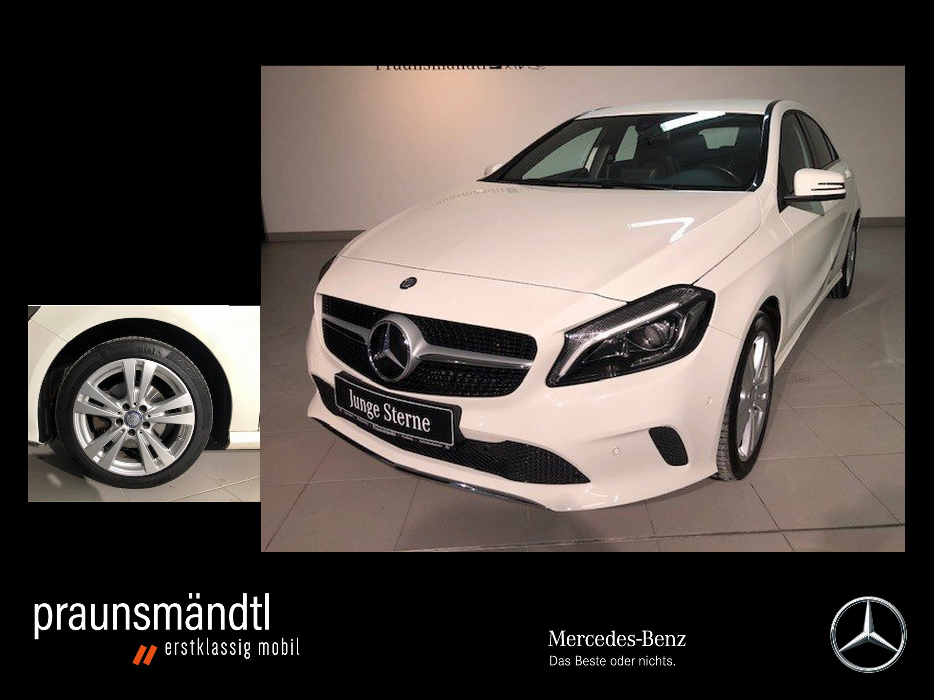 Mercedes-Benz A 160 Urban Score LED High/PTS/SHZ/LMR 17 Zoll, Jahr 2016, Benzin