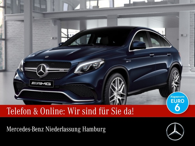 Mercedes-Benz GLE 63 4MATIC Coupé Sportpaket Bluetooth Navi LED, Jahr 2017, Benzin