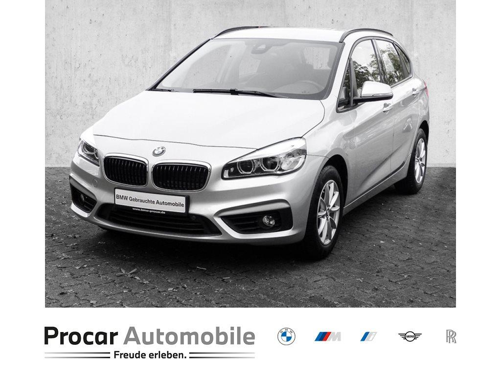 BMW 218i NAVI+LED*AHK+HiFi+PARK ASSIST+SPORT SITZ+FINab1%, Jahr 2018, Benzin