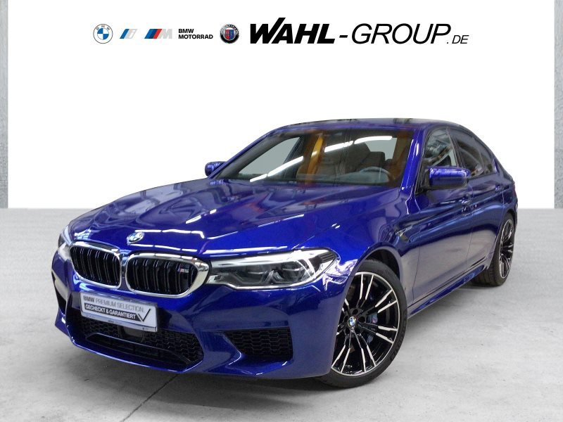 BMW M5 Limousine Gestik Individual-Leder Night Vision DAB, Jahr 2018, Benzin