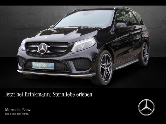 Mercedes-Benz GLE 450 AMG COMAND/LED/AHK/STANDHEIZUNG Comand, Jahr 2016, Benzin