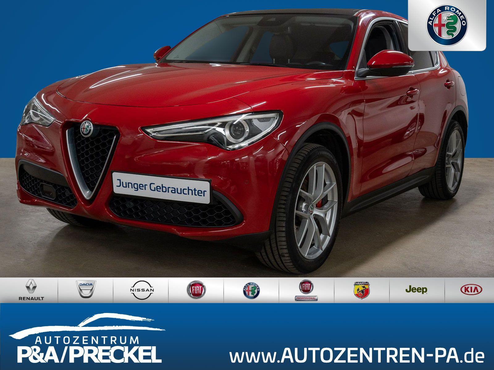 Alfa Romeo Stelvio First Edition 2.0 Turbo / Navi/Glasdach, Jahr 2017, Benzin