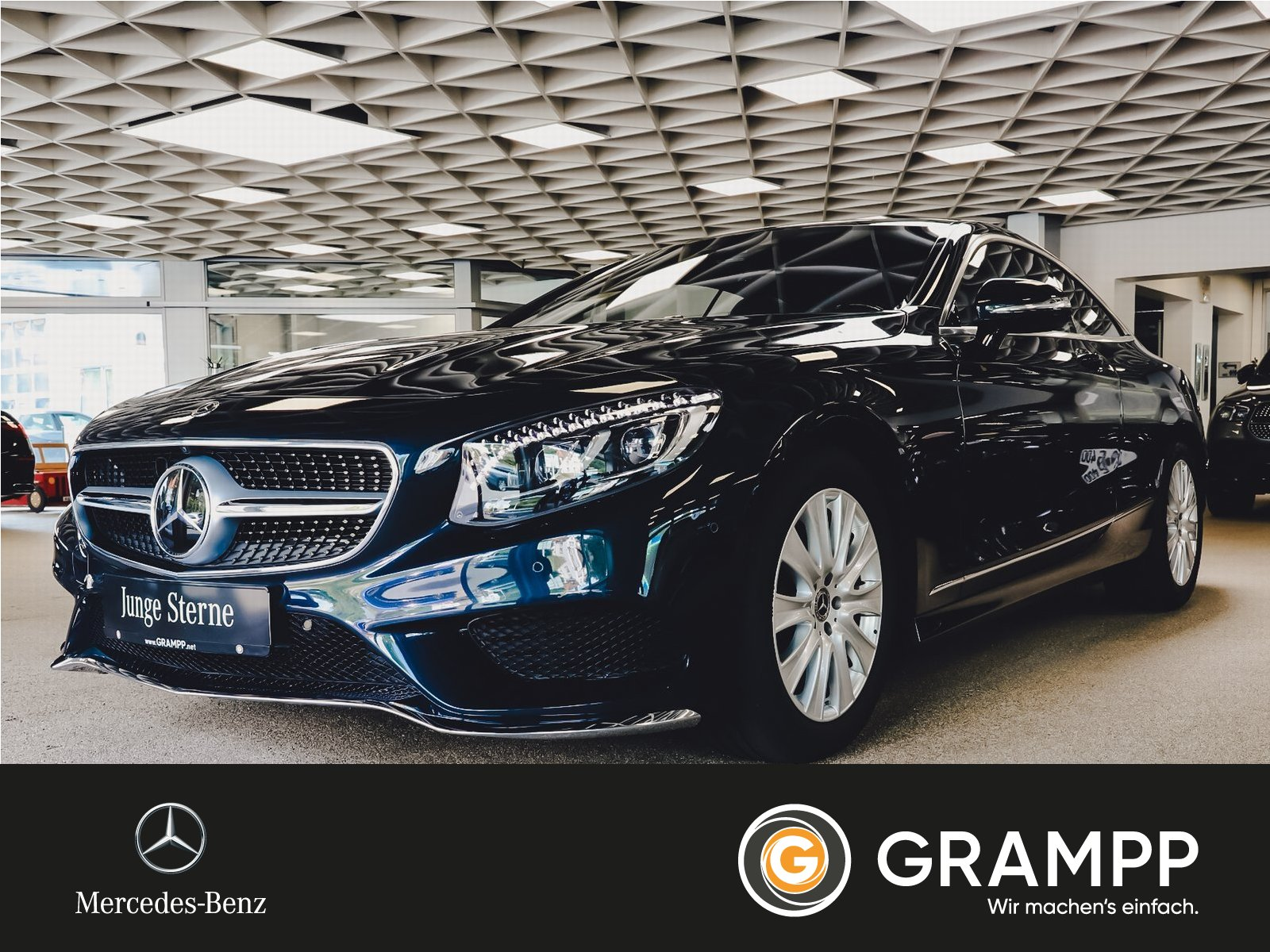 Mercedes-Benz S 450 4M Coupe MagicSky/Swarowski/Nightvision, Jahr 2019, Benzin