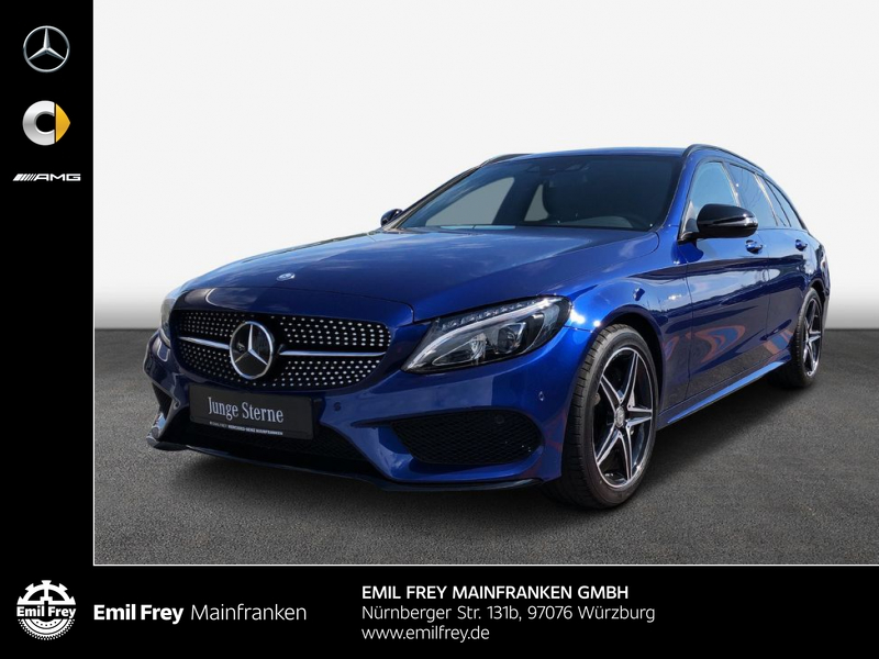 Mercedes-Benz C 450 AMG 4M *C 43 AMG*+Distro+LED+HiFi+Navi+Kam, Jahr 2016, Benzin