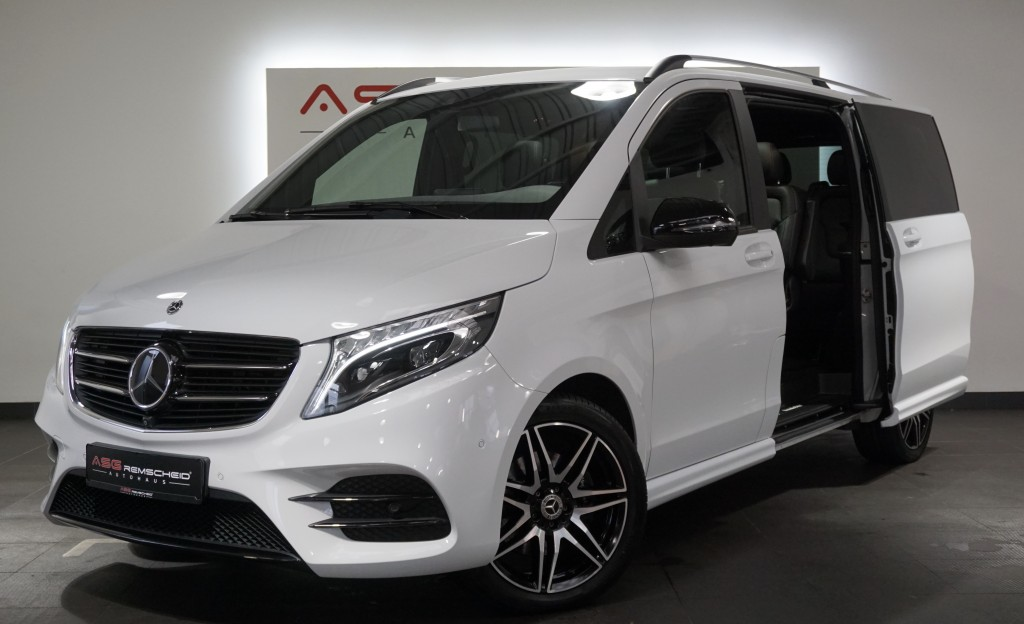 Mercedes-Benz V 250 CDI Lang 7G-Tr. AMG Line *Distr *Burm*, Jahr 2018, Diesel