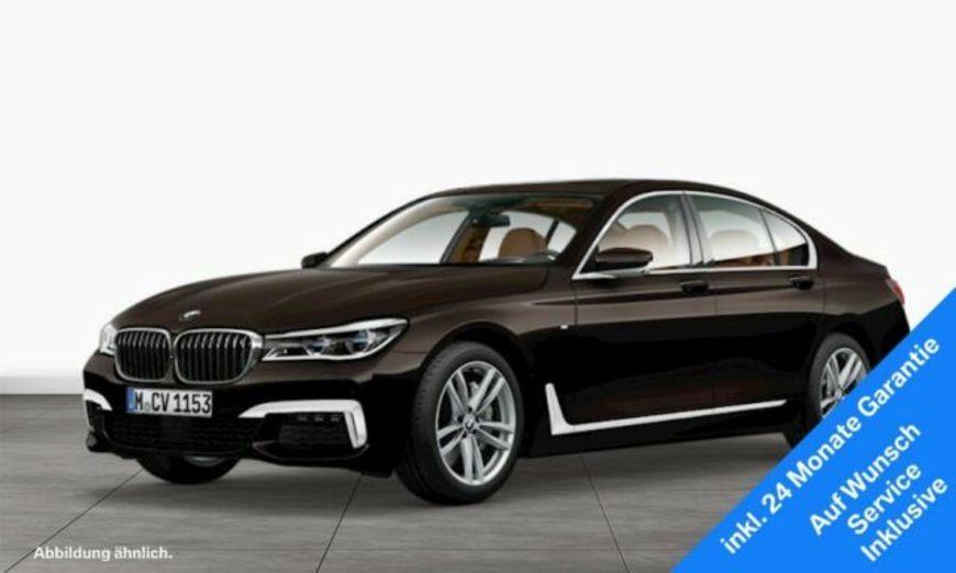 BMW 750i xDrive Limousine M Sportpaket Night Vision, Jahr 2016, petrol