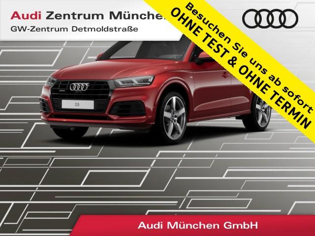 "Audi Q5 40 TDI qu. Sport S line 21"" Pano Virtual MatrixLED Assistenz Leder Navi Parkassistent S tronic, Jahr 2019, diesel"