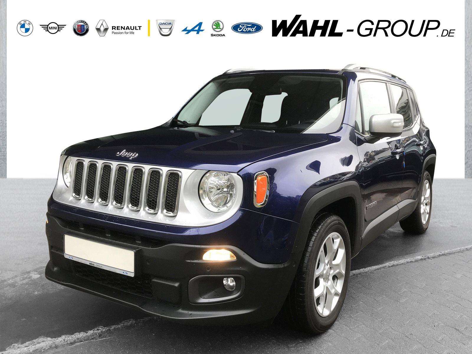 Jeep Renegade Limited*KLIMAA*PDC*NAVIGATION*8-FACH-ALU*, Jahr 2016, Benzin