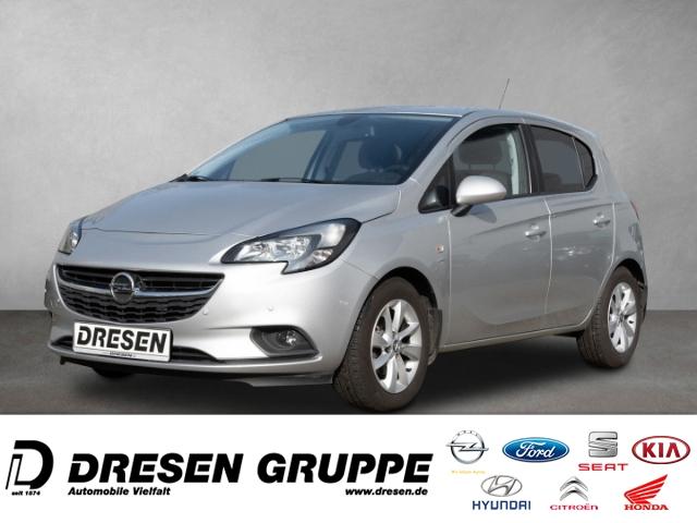 Opel Corsa E-1.4i-5türig/Sitz+LenkradHeizung/Alu-LMF ZV+ELFH+Parkpilot vo+hi/BC/Tempomat/Nebellampen, Jahr 2016, Benzin