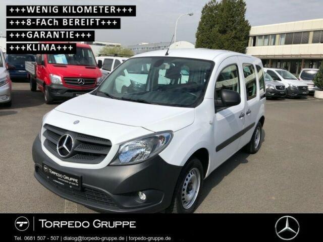 Mercedes-Benz CITAN 108 KOMBI+KLIMA+2*SCHIEBETÜR+8FACH BEREIFT, Jahr 2014, Diesel