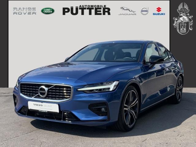 Volvo S60 T4 Geartronic R-Design EU6d-T 19'' ACC LED Panorama DAB PDCv+h, Jahr 2019, Benzin
