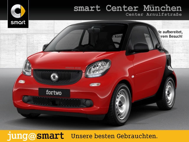 smart fortwo coupé 60kWed cool&Audio Tempom Klima Radio, Jahr 2017, Elektro