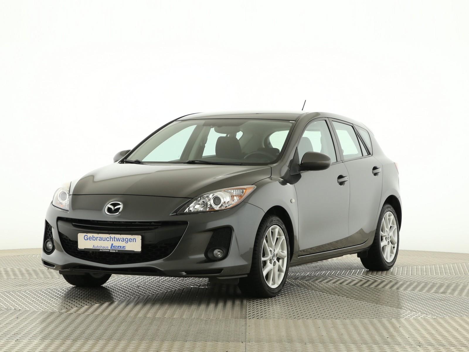 Mazda 3 Edition AHK PDC SHZ RVM Tempomat Klima Nebel, Jahr 2013, Benzin