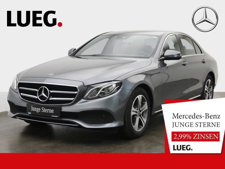 Mercedes-Benz E 200 Avantgarde+Navi+LED-HP+SpurP+Ambi+CarP+RFK, Jahr 2019, Benzin