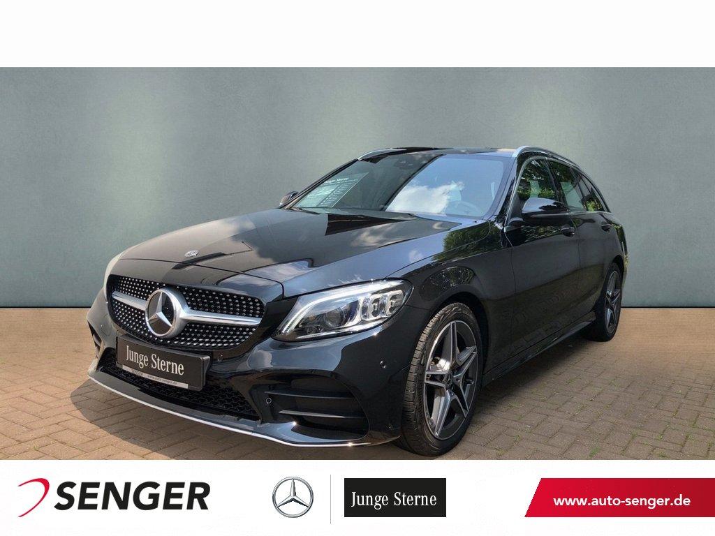 Mercedes-Benz C 180 T AMG+WIDE SCREEN+MULTEBEAM+SPIEGELPAKET*, Jahr 2020, Benzin