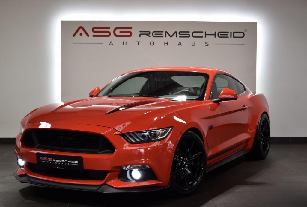 Ford Mustang GT V8 Black Shadow Edition *AbGasanlage*, Jahr 2017, Benzin