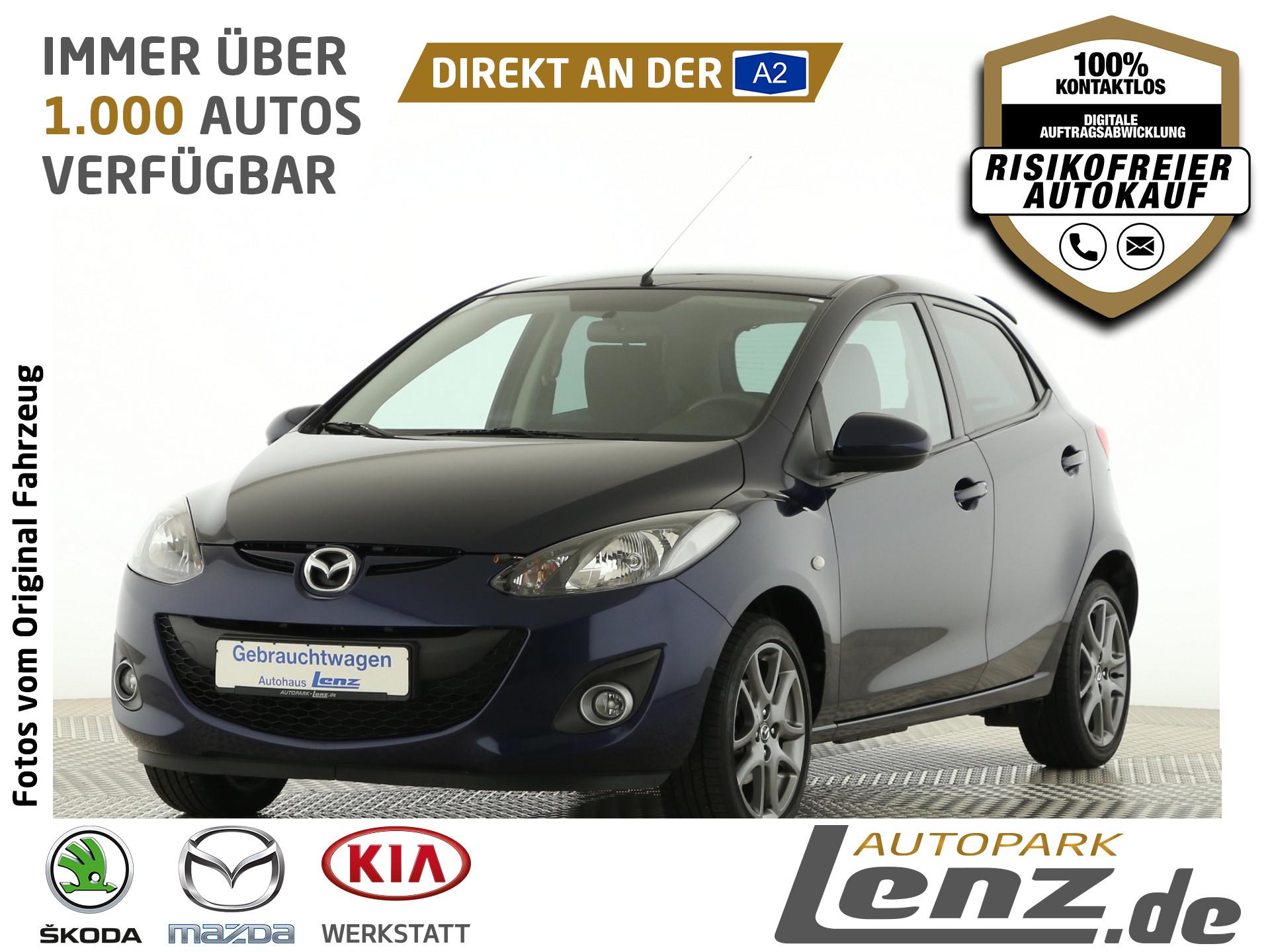 Mazda 2 Edition40 Navigation SHZ USB Klimaautomatik LM, Jahr 2013, Benzin
