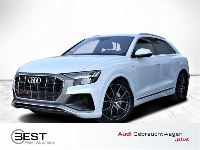 Audi Q8 50 TDI quattro S-Line MATRIX, STHZG, AHK, VIRTUAL, TOPVIEW, HUD, Jahr 2018, Diesel