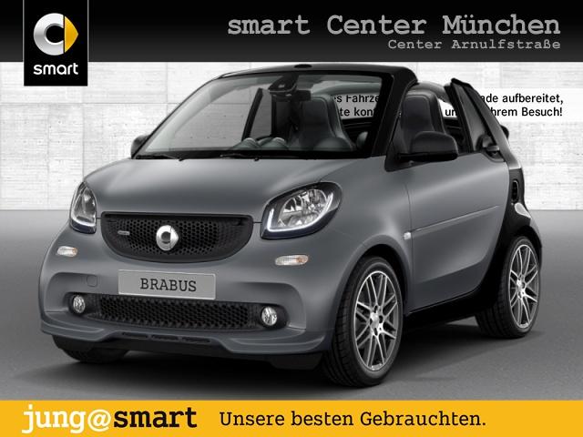 smart fortwo cabrio 80kW BRABUS Xclusive DCT cool&Media, Jahr 2018, Benzin