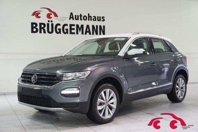 Volkswagen T-Roc 1,5 TSI DSG ACT OPF Style Navi ACC Sicht Winter Kamera AHK, Jahr 2020, Benzin