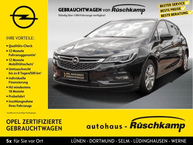 Opel Astra K 5türig Edition Start Stop 1.6 CDTI Navi PDCv+h LED-Tagfahrlicht Multif.Lenkrad, Jahr 2016, Diesel