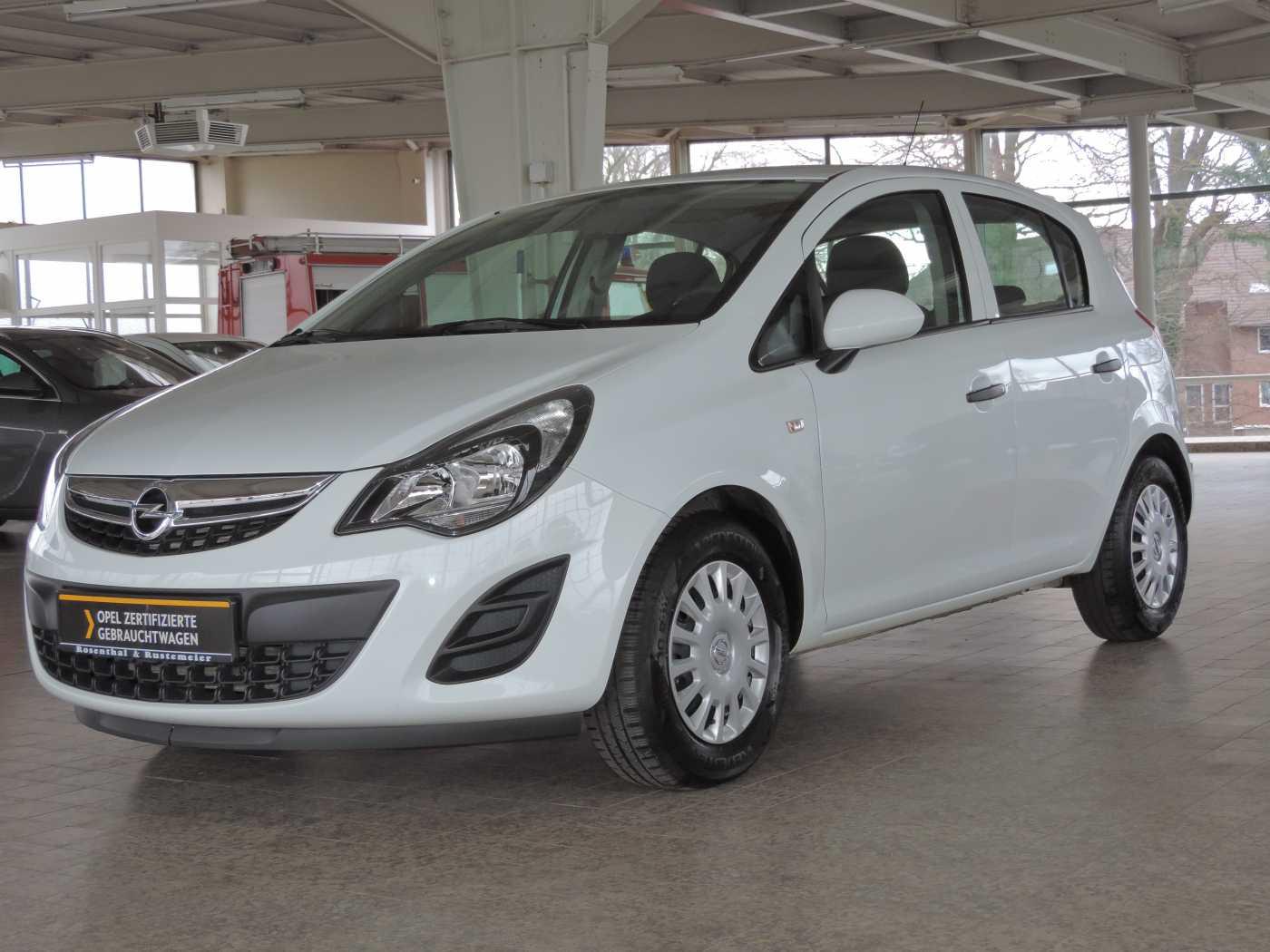 Opel Corsa 1.2 16V Selection KLIMA, Jahr 2014, Benzin