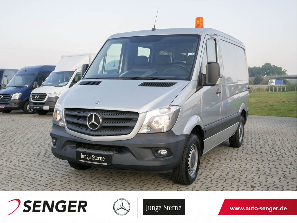Mercedes-Benz Sprinter 210 CDI KA L1H1 2xSortimoregale AHK 270, Jahr 2015, Diesel