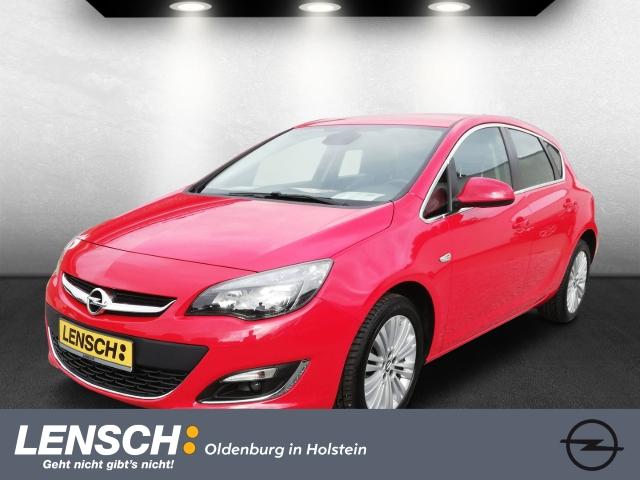 Opel Astra 1.6 Exclusiv +NAVI 650+ECC+RFK+SHZ, Jahr 2015, Benzin