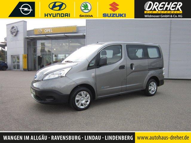 "Nissan e-NV200 ""Comfort"" ELEKTRO/5-Sitzer/NAVI/1.Hand, Jahr 2017, electric"