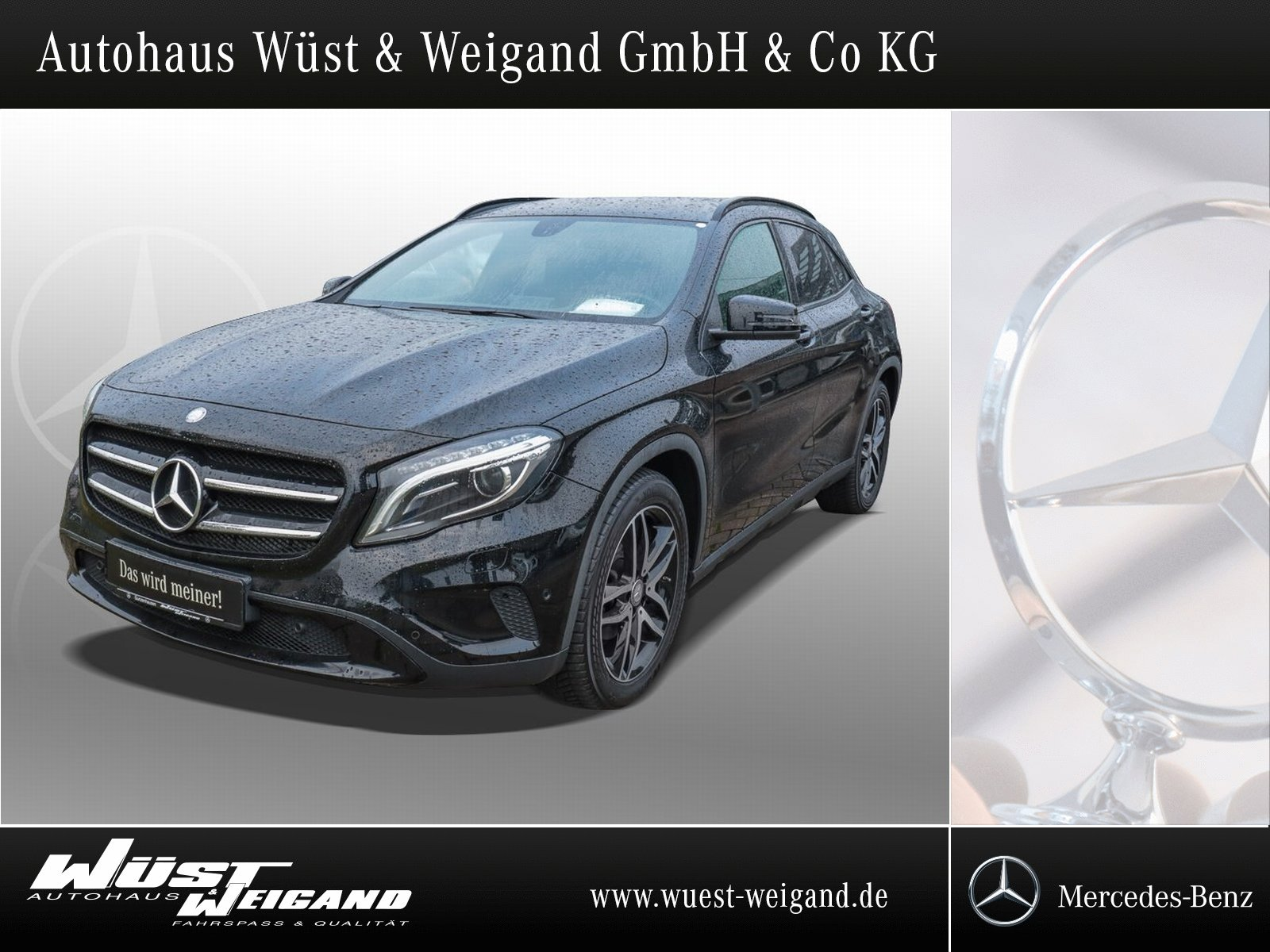 Mercedes-Benz GLA 180 Urban Nigth+Xenon+beh. Sitze+PTS+Klima, Jahr 2015, Benzin