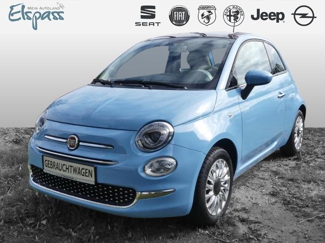 Fiat 500 Lounge 1.2 8V PANODACH KLIMA AUX USB MP3 ESP, Jahr 2016, Benzin