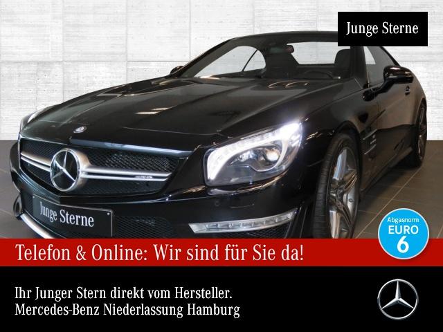 Mercedes-Benz SL 63 AMG Keramik 1Hd. Drivers B&O Servo Carbon, Jahr 2016, Benzin