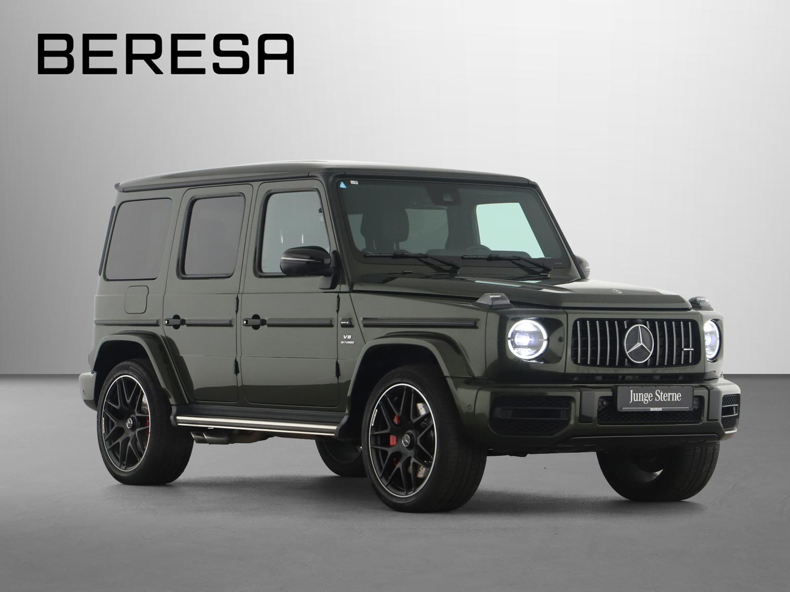 Mercedes-Benz G 63 AMG Designo Drivers AHK Carbon SHD 360°, Jahr 2020, Benzin