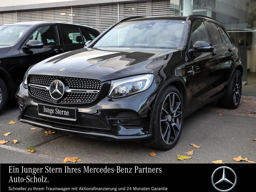 Mercedes-Benz GLC 43 AMG 4MATIC COMAND+LED+PANORAMAD.+SOUNDSY., Jahr 2017, petrol