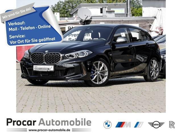 BMW M135i xDrive Ad. LED HuD Live Cockpit Prof. HiFi, Jahr 2020, Benzin