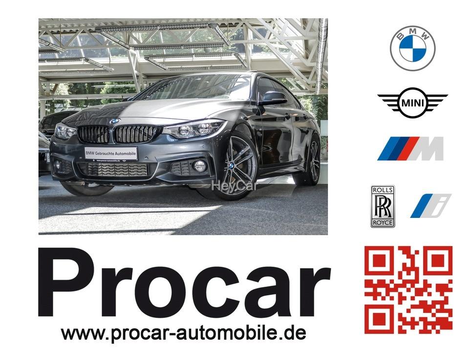 BMW 430dA GranCoupe,MSport,19''NavProf,Glasd,AHK,TOP!, Jahr 2017, Diesel