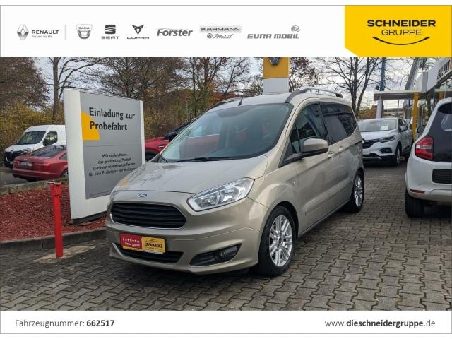 Ford Tourneo Courier 1.0 EcoBoost Titanium, Jahr 2014, Benzin