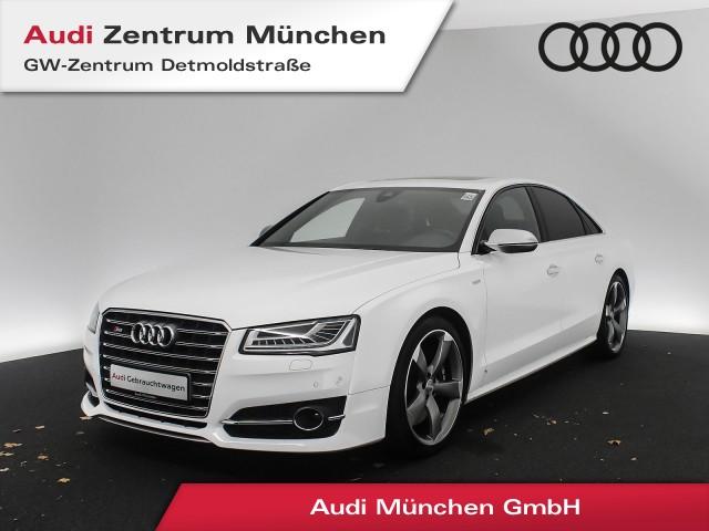 "Audi S8 4.0 TFSI qu. 21"" MatrixLED Assistenz Kameras AHK GSD Sportabgas Sitzbel./Massage tiptronic, Jahr 2017, petrol"