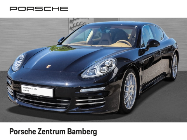 Porsche Panamera 4S/ Luft/ 20 Zoll/ LED/ Burmester uvm., Jahr 2013, petrol