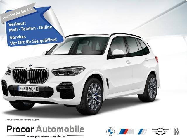 BMW X5 xDrive30d M Sport HuD H/K 20'' AHK PA+ Pano, Jahr 2020, Diesel