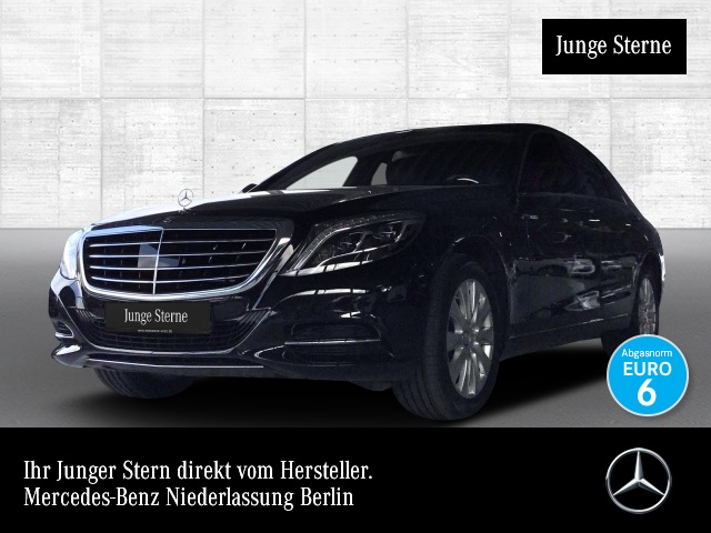 Mercedes-Benz S 350 4M BT Fahrass Fondent Airmat Pano Distr. HUD, Jahr 2015, Diesel
